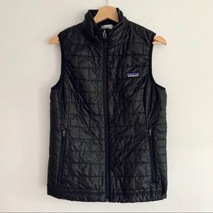 Patagonia Nano Puff Vest in Black